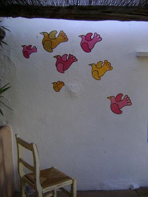 Murales at Cicale, Ibiza, April 2012