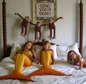 SING YOUR SONG in the mermaids house...