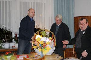 Ein Dankeschön an unseren langjährigen Kassenwart Alois