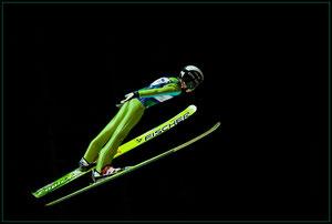 Skispringen Hinzenbach