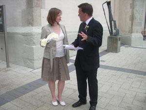 Weddingplaner im der Ausbildung IHK im Einsatz