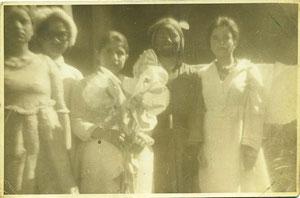Celebración de fin de año Escuela de San Antonio (1967 aprox.)