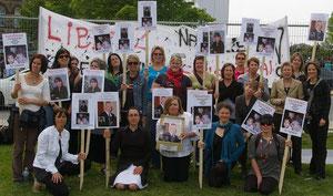 Rassemblement des groupes de femmes soutenant Nathalie Morin et les actions du Comité de Soutien