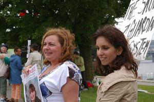 Johanne Durocher et Shahla Kan Salter