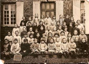 Ecole de filles année inconnue
