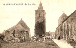 la sacristie et le clocher de l'Eglise Saint Pierre