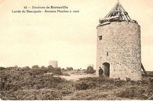 carte postale des 3 moulins de la lande du Bosquet