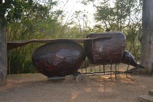 Escultura de la hormiga culona