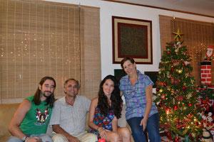 Con Juan y Hilda