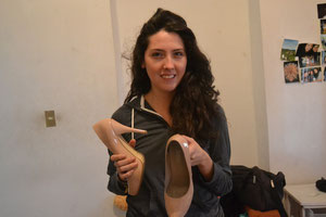 Los zapatos de Andrea para evitar las mordeduras de serpientes, imprescindibles!!