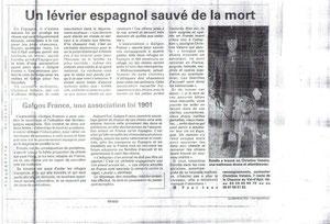 L'Est Républicain 03/11/2010