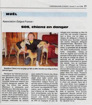 L'Hebdomadaire d' Armor - 35 - 11/04/2009