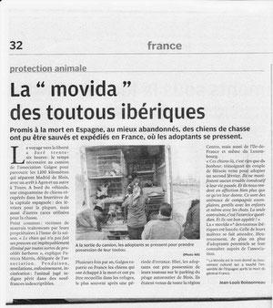 La Nouvelle République - Edition Loir et Cher du 02 février 2011