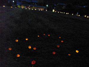 柿子燈。可愛♥