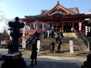 田中小姐的興趣是逛神社