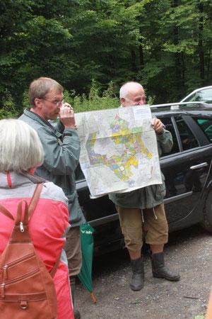 Exkursion mit Herrn Mußgnug (Foto: Gerold Franke)