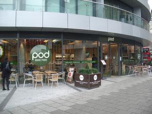 Restrant pod in London