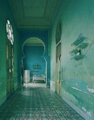 Dreamy arab corridor
