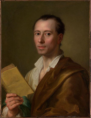 Winckelman per/por/by Anton Rafael Mengs, Ca. 1755
