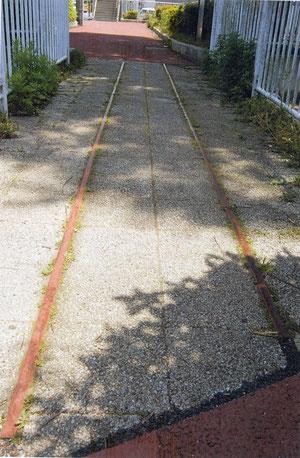 水道道トロッコ史跡(川井本町バス停付近)