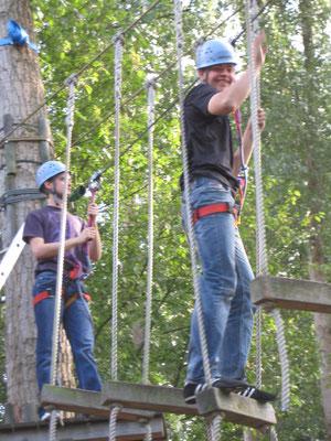 Kletterpark in Winsen 2009