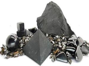 La Shungite - pierre de protection - Boutique minéraux - casa bien-être.fr