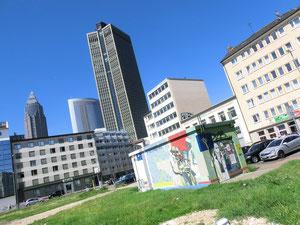 Frankfurt Gallus - Güterplatz - Juli 2012