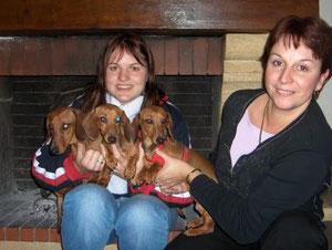Bounty, moi et Betty et sa maitresse
