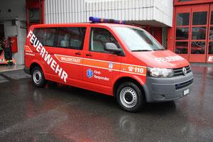 Feuerwehrtransporter mit First Responder