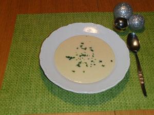 Pastinaken-Creme-Suppe