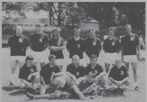 Fussballteam der Warriors