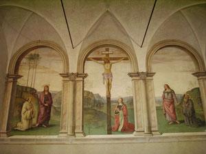 Borgo Pinti - Perugino Crocifissione