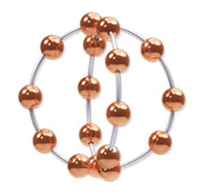 Darstellung des IUB Ballerine Kupferperlenballs