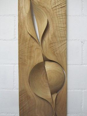 danach / wandskulptur alles ist möglich / kastanie 2012