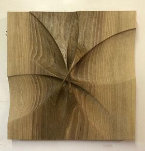 nussbaum lackiert 34/34cm 2018