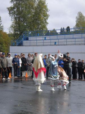 start zum festival golden goddess uvat / teiga / russland 2011