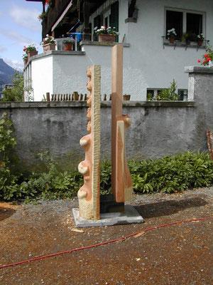 int.holzbildhauersymposium brienz / elisabetha 2004