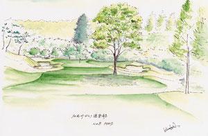 加古川GC 8HL par4