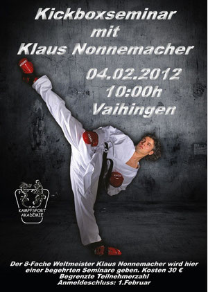 Seminar Klaus Nonnemacher