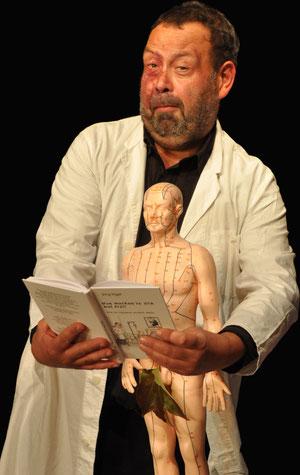 Posteransicht zur Buchlesung von Dr. Vogel