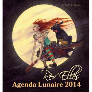 Parution dans l'Agenda Lunaire Rêv'elles 2014