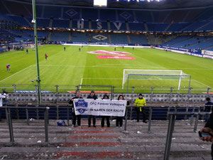 Unser Support für den HSV