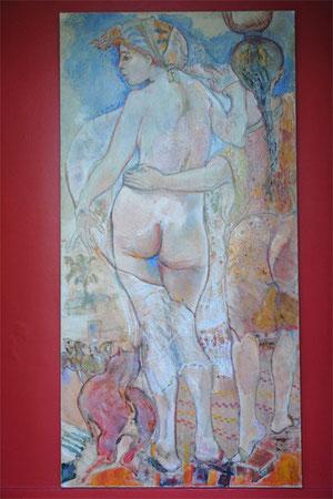 l'atelier-galerie de Jean-Franois Comte est à Saint Germer de Fly, proche de Paris. Proche de Gerberoy.