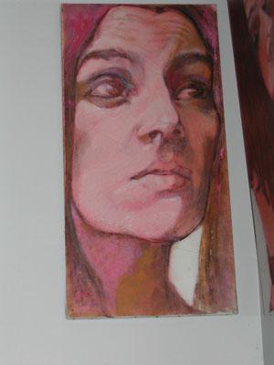 Nus et portraits de Jean-François Comte dans la galerie les Chambres de l'Abbaye, chambres d'hôtes de charme