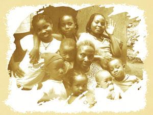 Grandmother, christian ETONGO copyright 2008