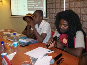 Conférence de Presse au Djeuga Palace Hotel de Yaoundé,collectif boulev'arts 2011