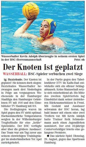 Neue Buxtehuder Wochenblatt vom 25.08.2012