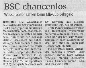 Buxtehuder Tageblatt vom 13.06.2012