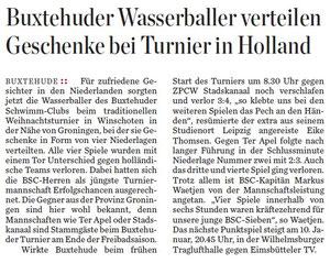 Hamburger Abendblatt - Region Stade/Buxtehude vom 21.12.2011