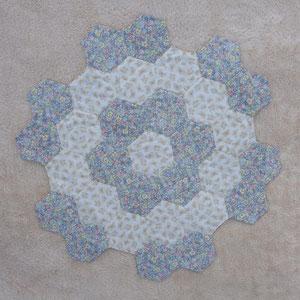 Tschdecke / Mitteldecke /hexagon